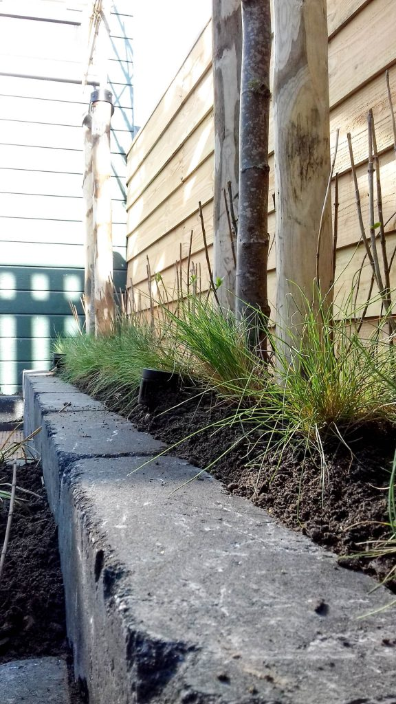 ontwerp en aanleg achtertuin grou